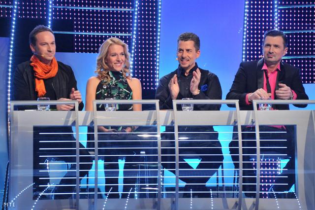 Rakonczai Viktor zeneszerző, Wolf Kati énekesnő, Rákay Philip az m1 és az m2 intendánsa valamint Csiszár Jenő rádiós és televíziós műsorvezető az 57. Eurovíziós Dalfesztivál 2012-es hazai elődöntőjének négytagú szakmai zsűrije.