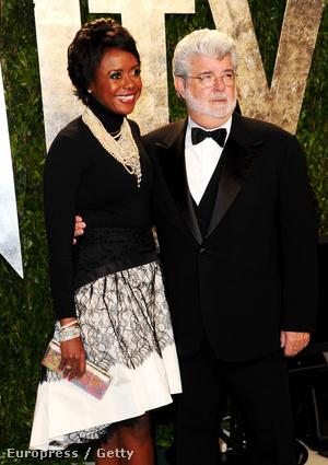 George Lucas és Mellody Hobson