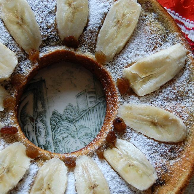 Mennyei, pihe-puha banános kuglóf: a masszából muffin is készülhet