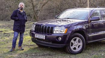 Használt teszt: Jeep Grand Cherokee 3.0 CRD (2007)