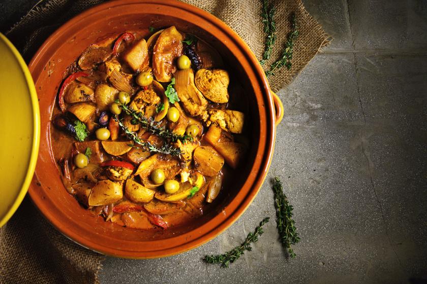 Fejedelmi zöldséges tagine: igazi marokkói finomság