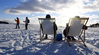 Brutális hideg volt Finnországban, mínusz 38,9 fokot mértek