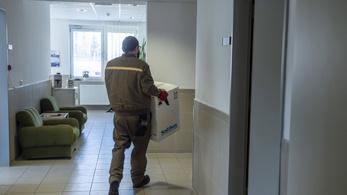 Balassagyarmaton is berobbant a járvány, két héten belül megtelhet a kórház