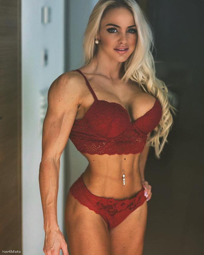A testépítés vált a hobbijává, ennek köszönheti, hogy a teste ilyen lett.