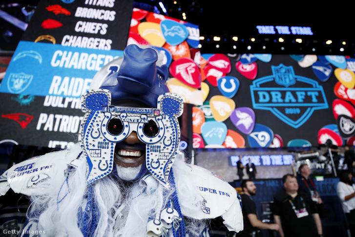 A holtszezon leginkább várt eseménye az NFL-draft – sajnos a koronavírus-járvány miatt mostanában szurkolók nélkül