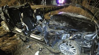 Itt a videó a pilisszentkereszti balesetet okozó BMW-s száguldásáról