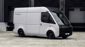 Új elektromos furgont mutatott az Arrival