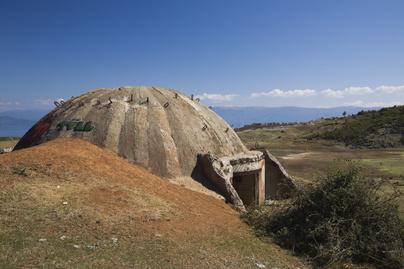 albánia bunker1