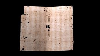 Röntgennel olvasták el a több mint háromszáz éve bontatlan levelet