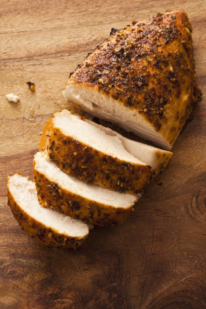 csirkemell grillezve álló ok