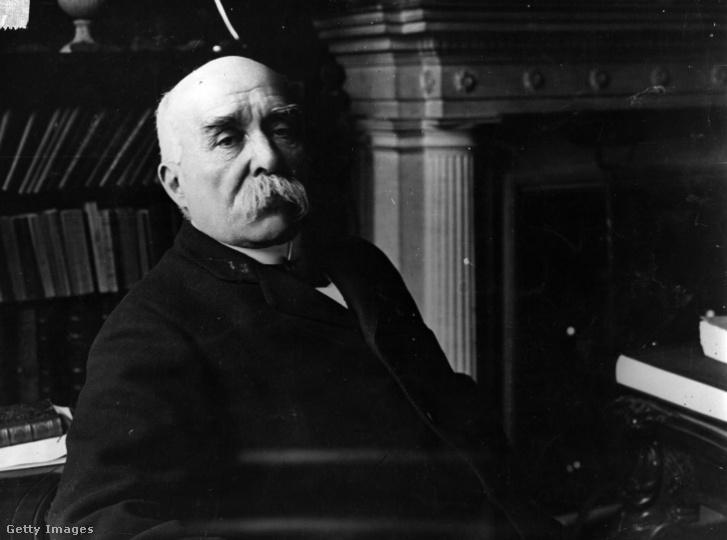 Georges Clemenceau 1919 körül