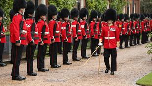 Nem véletlenül van az angol királynő palotaőreinek pont 46 centi magas prémkucsmája