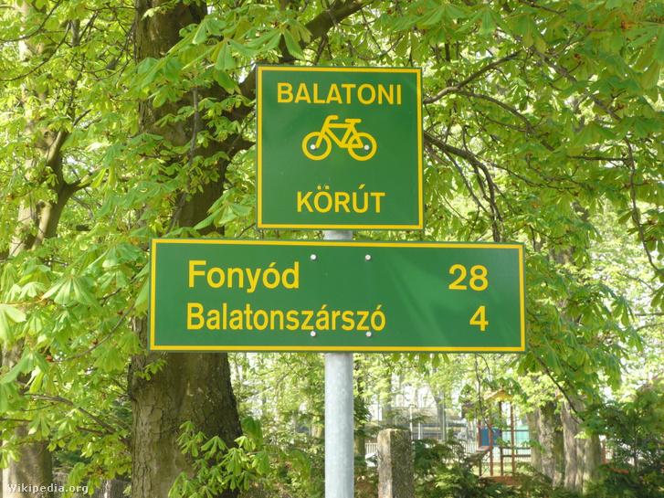 BalatonradwegBeschilderung