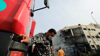 Tűz ütött ki az egyiptomi textilgyárban,  legalább húszan meghaltak