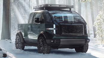 Canoo pickup: furcsa, de célszerű