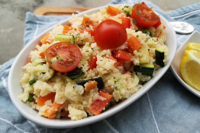 kuszkusz saláta recept