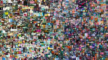 Közel hetvenmillió dollárért árvereztek el egy digitális műalkotást