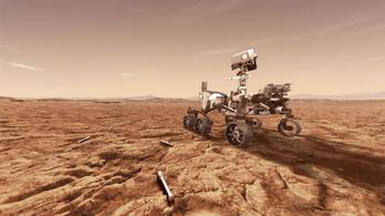 Hangfelvételeket küldött a földre a Perseverance Mars-járó