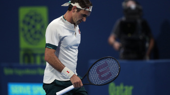 Roger Federer leírta, ez így nem megy tovább
