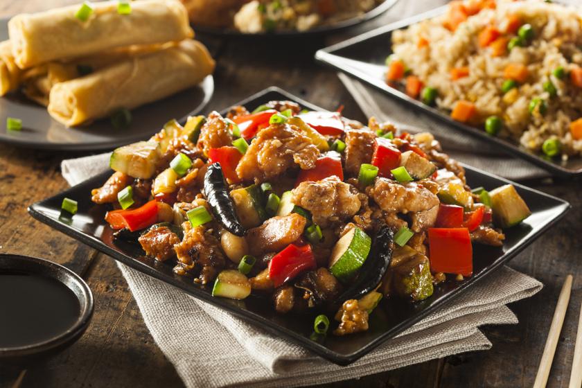 szecsuáni csirke recept