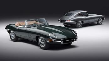 Újszerű E-Type-okat készít a Jaguar a típus születésnapjára