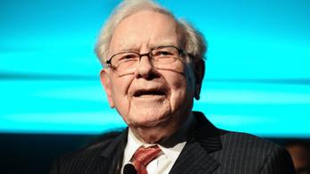 Elérte a százmilliárd dollárt Warren Buffett vagyona