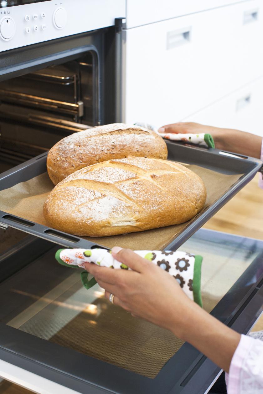 kenyérsütés álló
