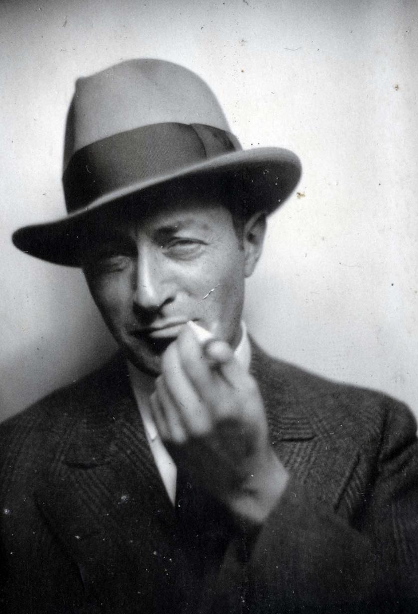 A fiatal Bánhidi László 1929-ben.