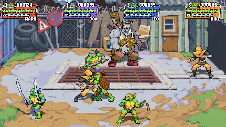 Teenage Mutant Ninja Turtles: Shredder's Revenge (Forrás: Dotemu)