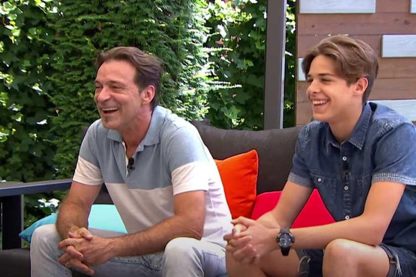 Hajas Laci és Dávid 2016-ban a Fem3Café vendégeiként.