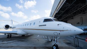 A NER kedvenc magánrepülőgépe ezúttal blokkolt azonosítóval repülhetett Dubajba