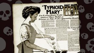 Halálos kórt terjesztett, mégsem volt hajlandó karanténba vonulni: Tífuszos Mary története