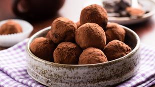 Étcsokis golyók – ezeket a minifalatkákat a diétádba is beillesztheted