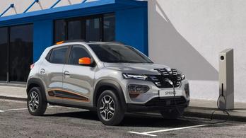 Romániában jóval olcsóbb lesz az elektromos Dacia, mint nálunk