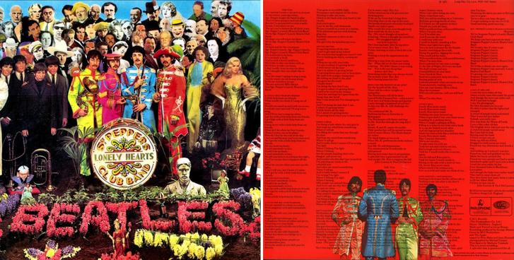 A Bors őrmester és a Magányos Szívek Klubja című lemez borítója