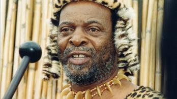 Meghalt a zuluk királya