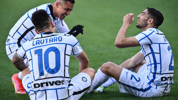 Már nyolcmeccses az Inter győzelmi szériája
