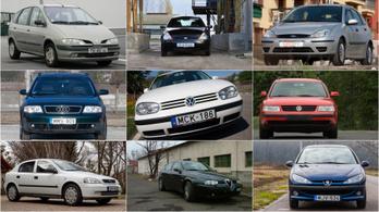 Az Év Autója-díj dobogósai mint használt autók XII. – 1997-1999.