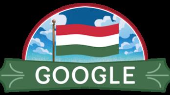 Magyar zászlóval hajt fejet az 1848–49-es forradalom és szabadságharc előtt a Google