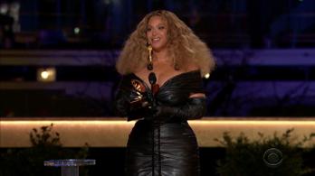 Beyoncé a legtöbbször díjazott előadónő a Grammy történetében