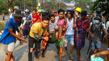 Statáriumot vezettek be Mianmar fővárosában, rengetegen meghaltak a tüntetéseken