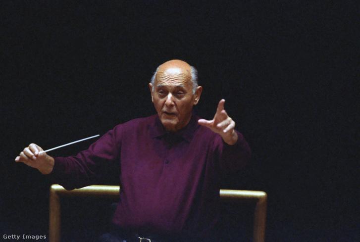Solti György 1994-ben Rómában