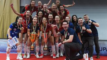 A valóság felülmúlta az álmot a női röplabda kupadöntőben