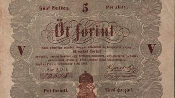 Az első magyar bankjegy is a szabadságharcnak köszönhető
