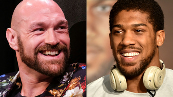 Kétszer csap össze Tyson Fury és Anthony Joshua