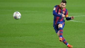 Messi beérte Xavit, bombagólokkal verte a Barca a Huescát