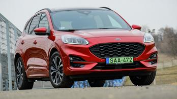 Teszt: Ford Kuga PHEV ST Line -2021.