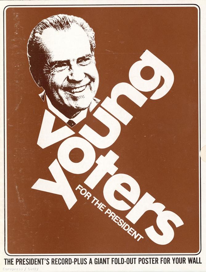 Nixon újraválasztási kampányának a legsajátosabb fejleménye az ún. Nixon Youth felbukkanása volt. Miközben a demokraták háziversenyében végül egy igazán progresszív, a behívót megtagadóknak amnesztiát és a drogok liberalizálását ígérő jelölt, George McGovern diadalmaskodott, Nixon kampányához ezrével csatlakoztak a fiatalok.
