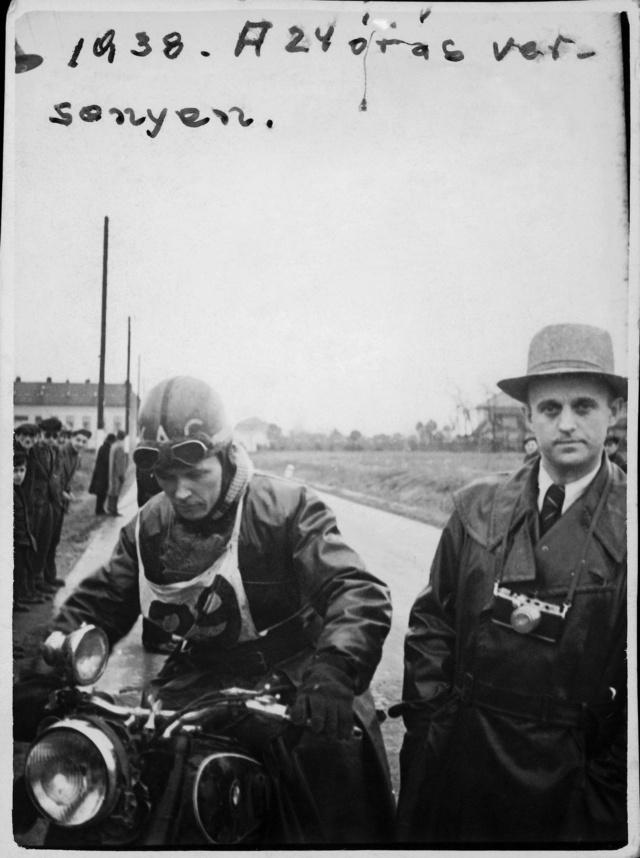 Czulyba Mihállyal az 1937-es Reznicsek Túraversenyen