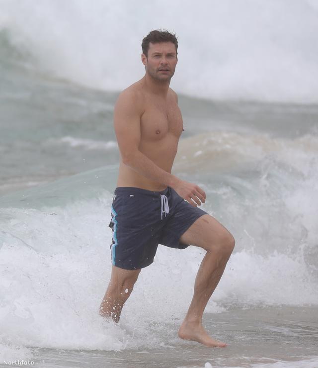 Ryan Seacrest Saint-Barthélemyn nyaral